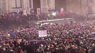 Morte Astori, il coro dei tifosi saluta 'il capitano':