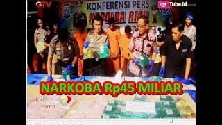 Download Video Bawa Sabu 33 Kg dan 42 Ribu Butir Ekstasi, Polda Riau Bekuk Sindikat Internasional - BIP 04/08 MP3 3GP MP4
