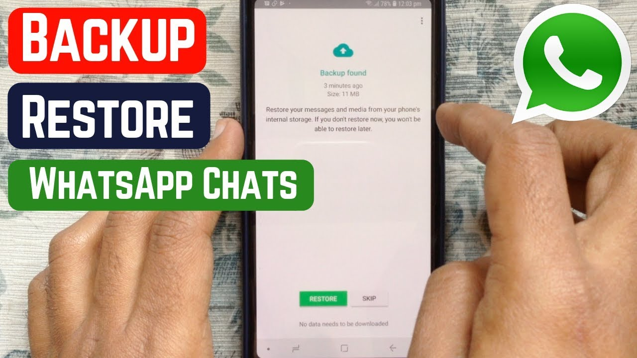 How to Backup and Restore Whatsapp Messages on Android (7)