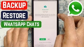 How to Backup and Restore Whatsapp Messages on Android (2019)