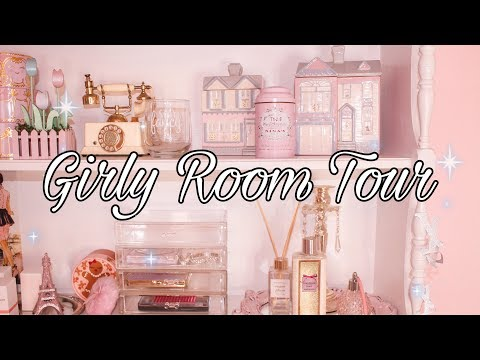 A Very Pink And Girly Room Tour 2020