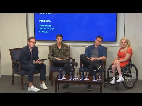 Jonathan Groff on Out On Broadway Webcast - 06/20/2017