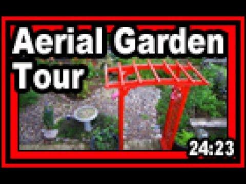 Aerial Garden Tour - Wisconsin Garden Video Blog 782