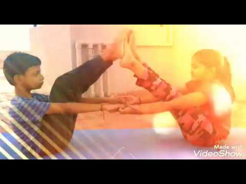 easy yoga posses with the partner/in routine  youtube