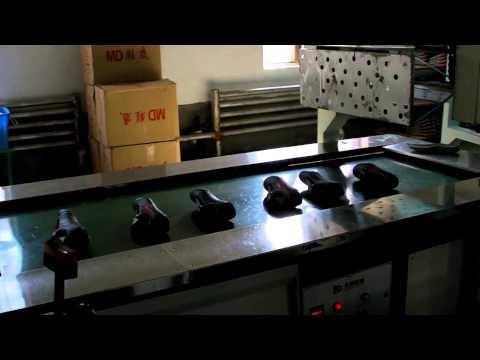 American Shoe Factory in Rason, North Korea