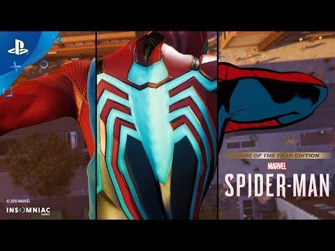 Sony breaks down the origin of each Spider-Man PS4 suit