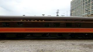 Pullman rail cars: A detour back through time