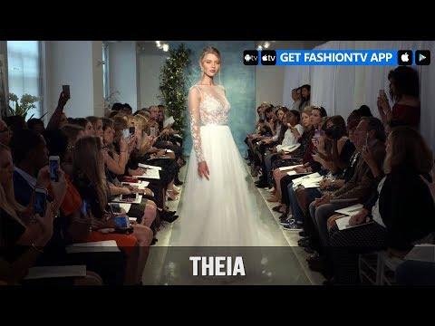 New York Bridal Fashion Week 2018 - Theia   FashionTV