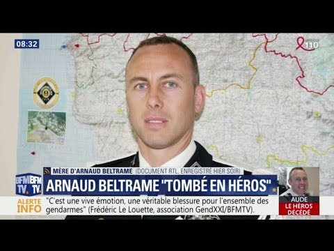 Attentats dans l'Aude: Arnaud  arnaud beltrame