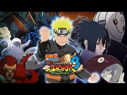 Naruto Shippuden: Ultimate Ninja Storm 3 Full Burst Game Movie (HD) (1080p)