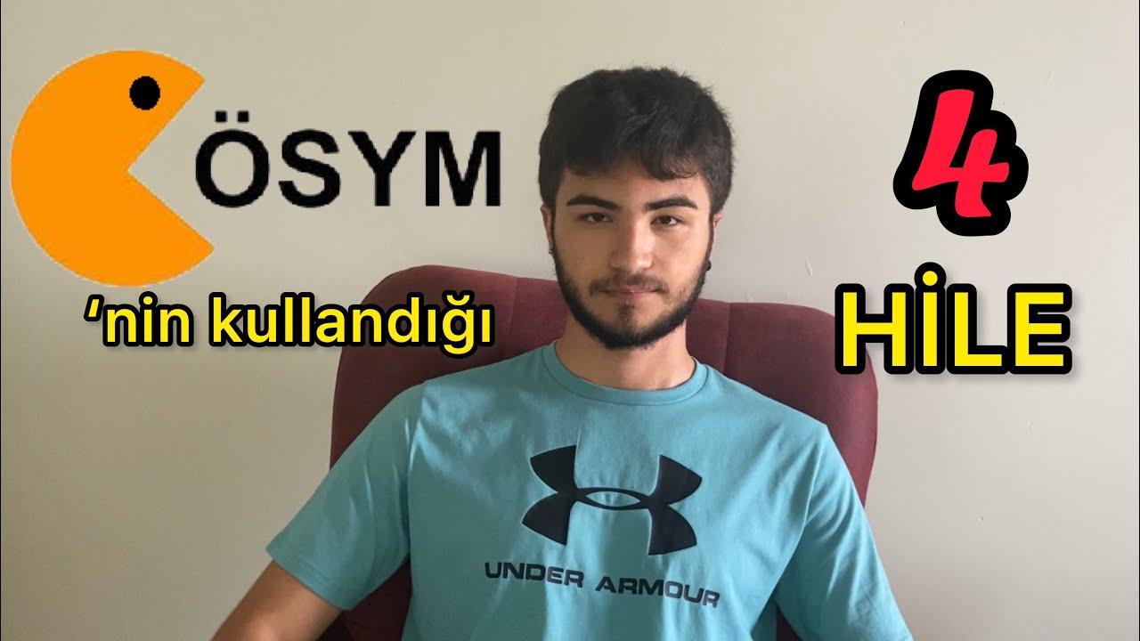 YKS'DE BU 4 HİLEYİ KULLAN! (ösym)