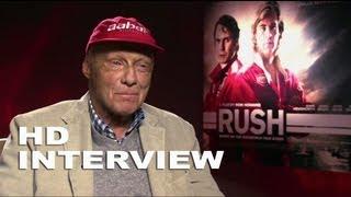 Rush: Formula 1 Driver, Niki Lauda Interview Part 2 of 2