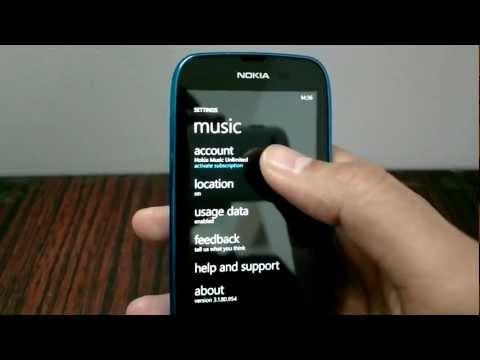 How To : Activate Nokia Music Unlimited on Nokia Lumia 610