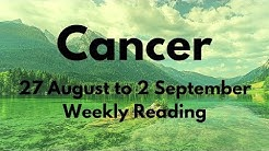 CANCER AUGUST 28-SEPTEMBER 2 2018 * HOW YOU MOVE FORWARD
