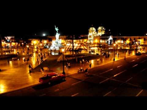 Plaza Mayor de Trujillo en Perú.