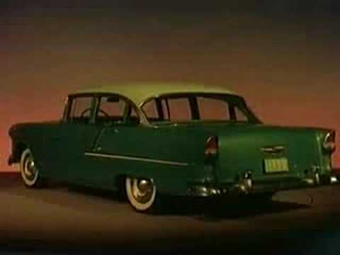 1955 Chevy Technicolor Ad 6 of 10: Low and Behold