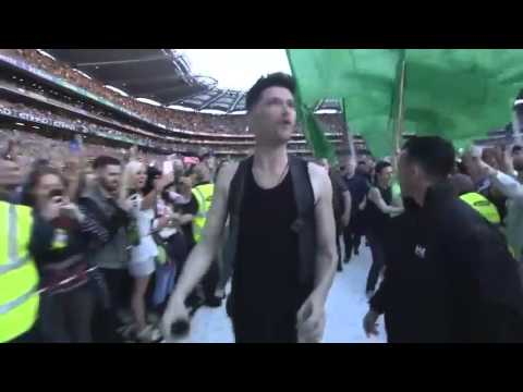The Script Croke Park - Intro + Paint the town green