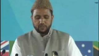 Ahmadiyya Moulvi Kaleem Khan Sb Bangalore Speech at Jalsa Salaana Qadian 2009 - Part 3