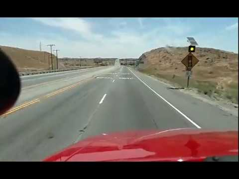 Driving thru Antelope Valley , CA