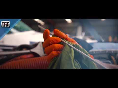 TGC Orange Nitrile Gloves