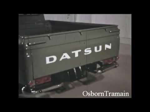1966 Datsun (Nissan)  Pickup Truck Commercial   Mini HO City - Revell Models