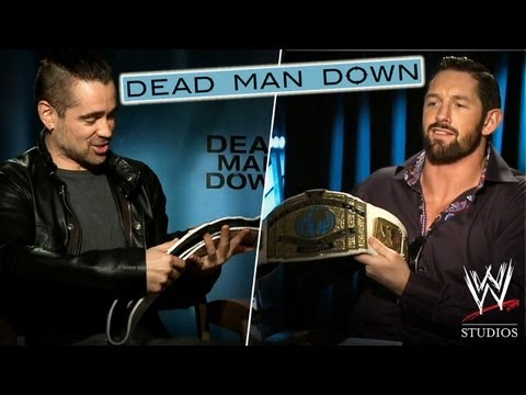 'Dead Man Down' - Wade Barrett gets 'Down' with Co-stars