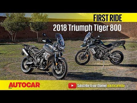 Triumph Tiger 800 First Ride Autocar India Youtube