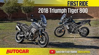 Triumph Tiger 800  First Ride  Autocar India