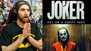 JOKER - Teaser Trailer REACTION