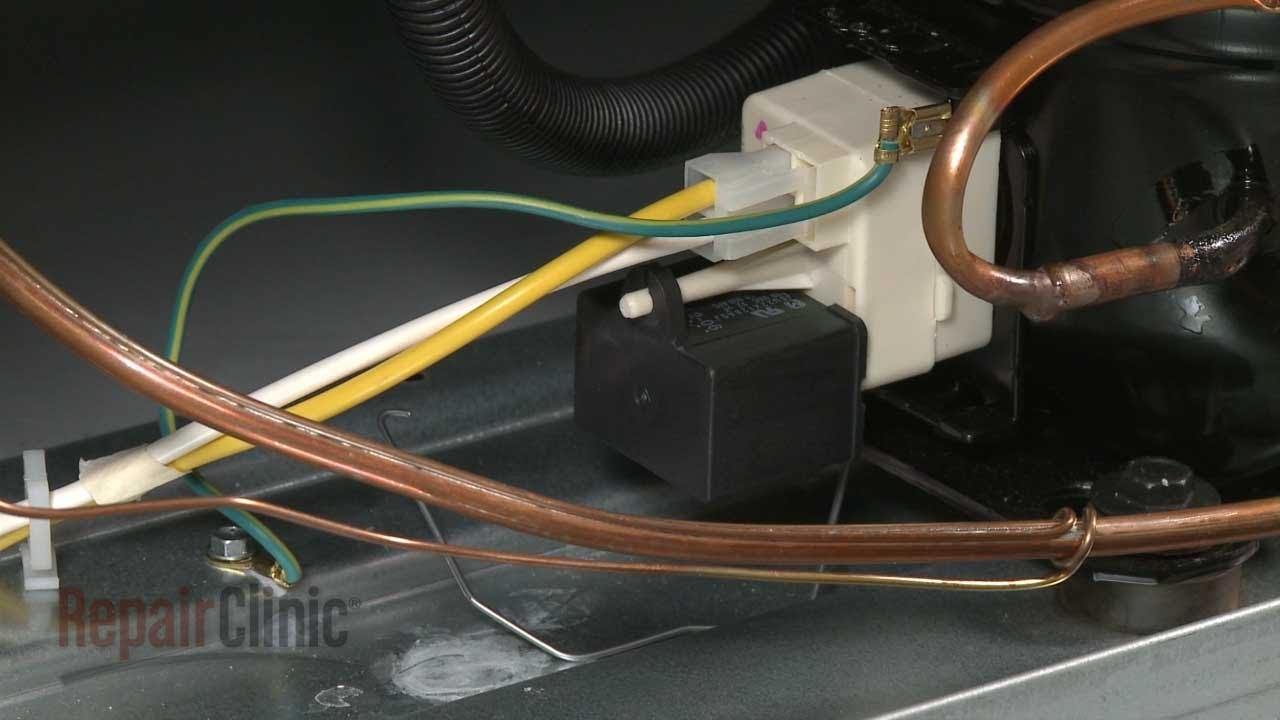 frigidaire upright freezer run capacitor replacement 216985001 [ 1280 x 720 Pixel ]