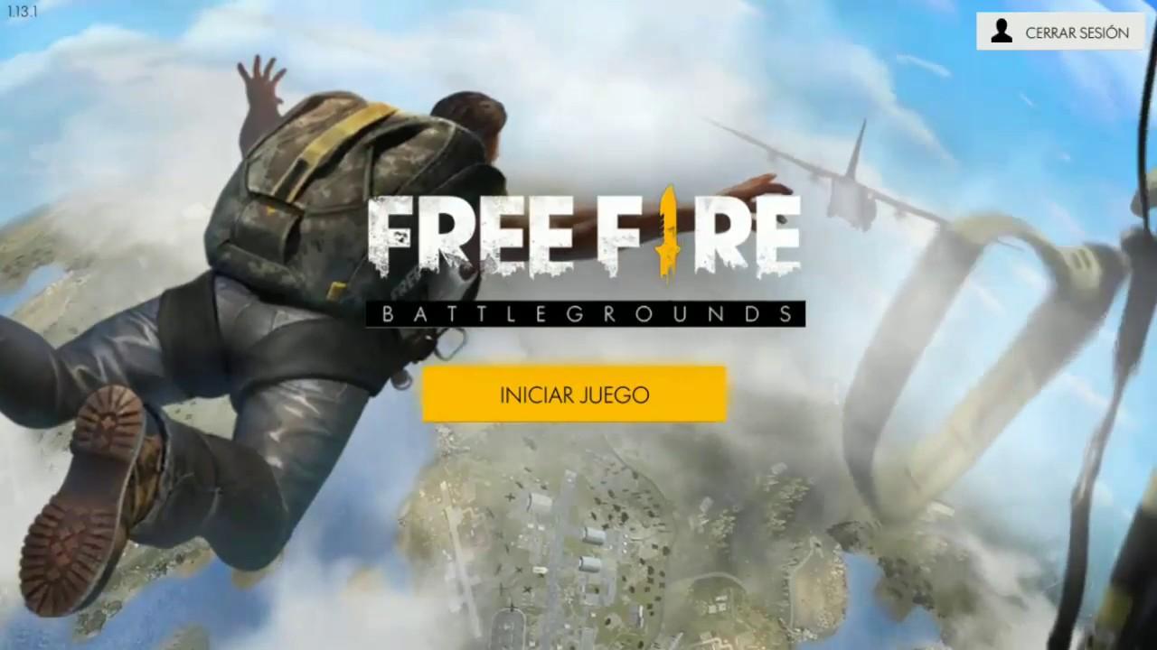 Nuevo Juego Free Fire Battlegrounds Youtube