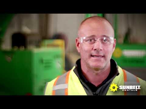 Sunbelt Rentals Safety Video With The PHT2-140-US
