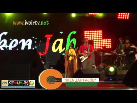 FEMUA 10: la star du reggae Tiken Jah et BLACK M  font le Show à Abidjan