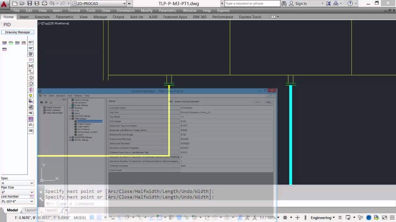 Drawing Lines In Visio : Procad p id tutorial module routing lines youtube