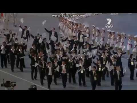 Beijing 2008 Olympic Games Taiwan Team 北京奧運台灣隊進場