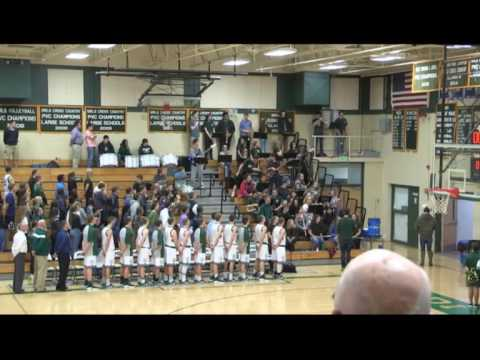 MDIHS vs Washington Academy Mens Basketball 12/15/16