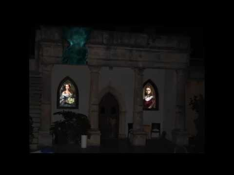 Horror Projection Mapping Elisa Nieli