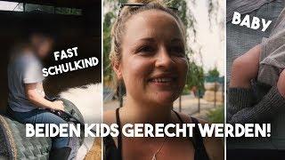 XXL Vlog I Ein typischer Tag als 2 fach Mama I Mellis Blog