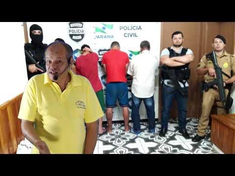 Combate ao tráfico de drogas-Polícia Civil realiza operação em Borrazópolis