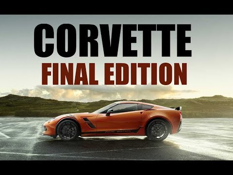 Chevy Corvette Final Edition C