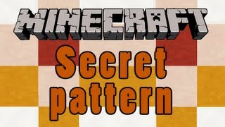 Minecraft Secret Redstone Pattern Thumbnail