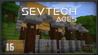 SevTech Ages EP19 Drawer Controller + Core Sample Drill