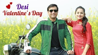 Desi Couple on Valentine's Day - | Lalit Shokeen Films |
