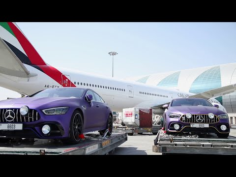 The Purple Team flies First Class on Emirates SkyCargo | Emirates