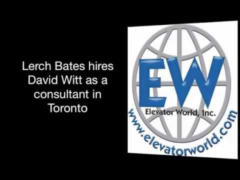 Lerch Bates hires Witt as Consultant in Toronto