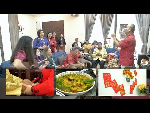 Baba Nyonya family keeps CNY tradition alive