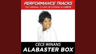 Alabaster Box (Performance Track In Key Of Bb-C)