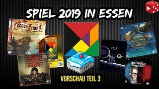 Essen Spiel 2019 Vorschau #3: Neuheiten von Frosted Games & meine persönlichen Ersteindrücke