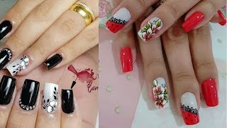 Cute and Easy Nail Art Design for Beginners for short nails #1
