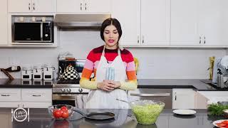 Lilit's Kitchen / Zucchini Fritters / Ցուկինիյով տորթ